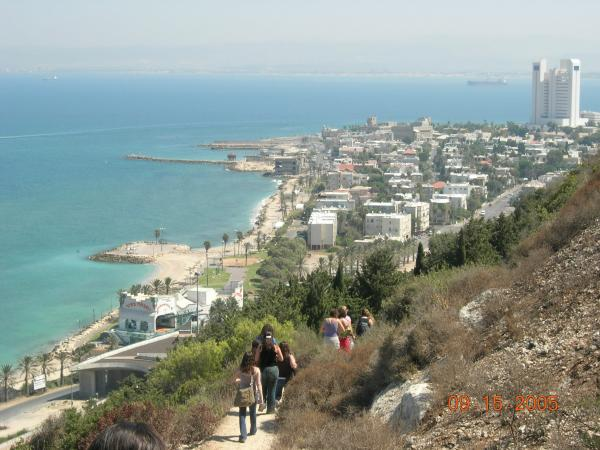 Haifa, Beach, Mount Carmel