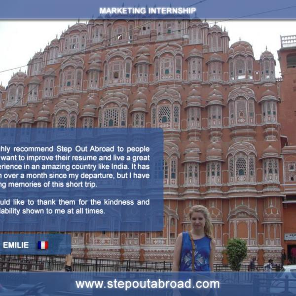 Stepout Abroad, Internships, Travel