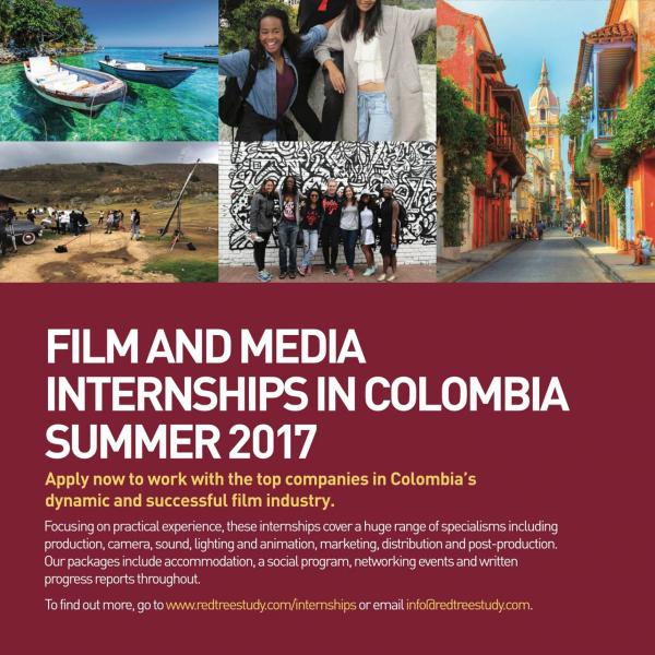 Film Internships 2017 Poster