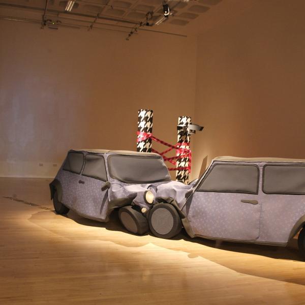 Fine art show at Nottingham Trent University