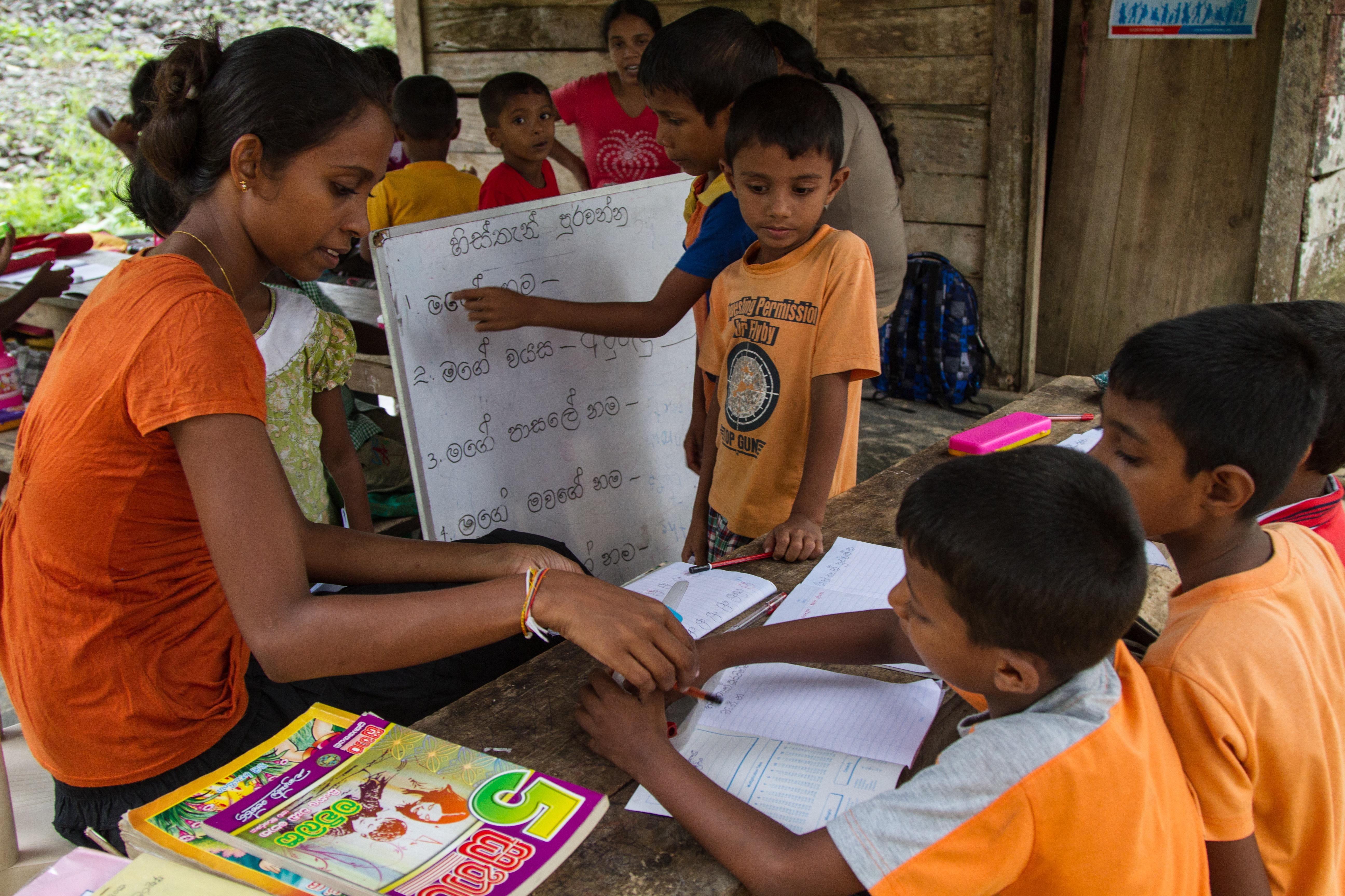 volunteer in Sri Lanka