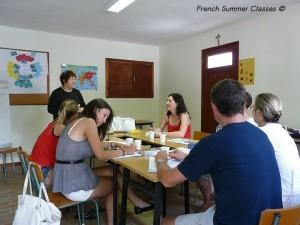 French summer courses for adults