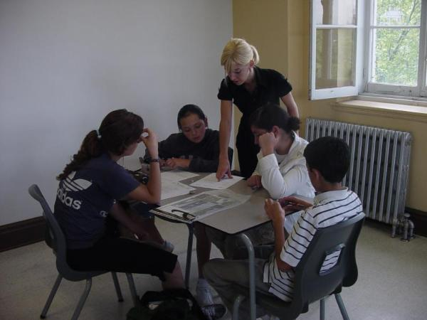 French classes for teenagers Quebec