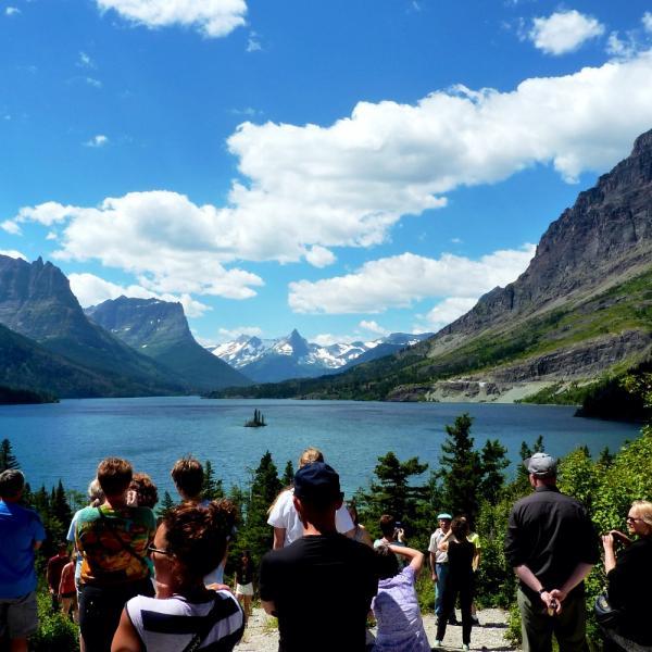 Breathtaking views in Glacier Park