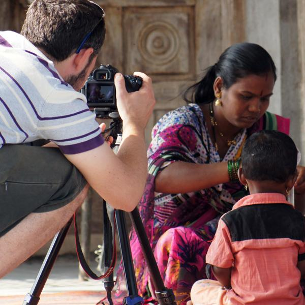 Filming, India, documentary