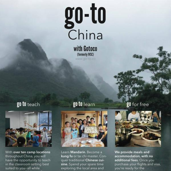 Volunteer in China Gotoco