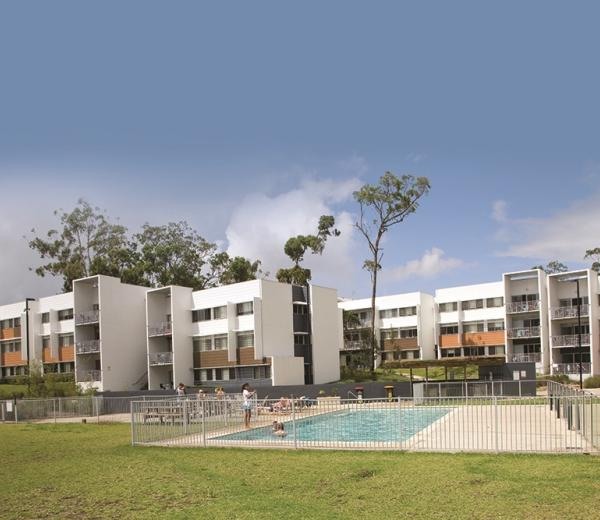 Griffith University Gold Coast accommodation