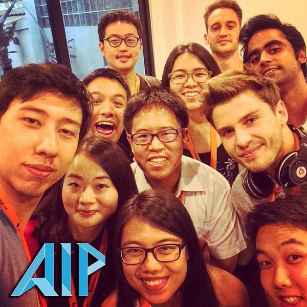 group interns in thailand