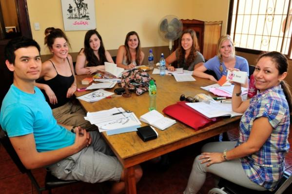 Group Spanish classes in Heredia, Costa Rica