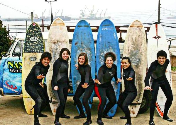 Group Surf - Intern in Chile - Adelante Abroad