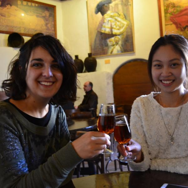 Spanish lessons and Wine tasting
