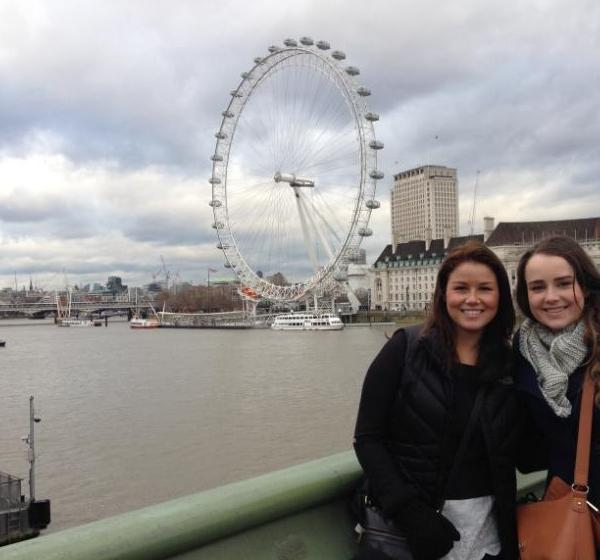 ISA Interns during the Bridging Cultures Program in London, England