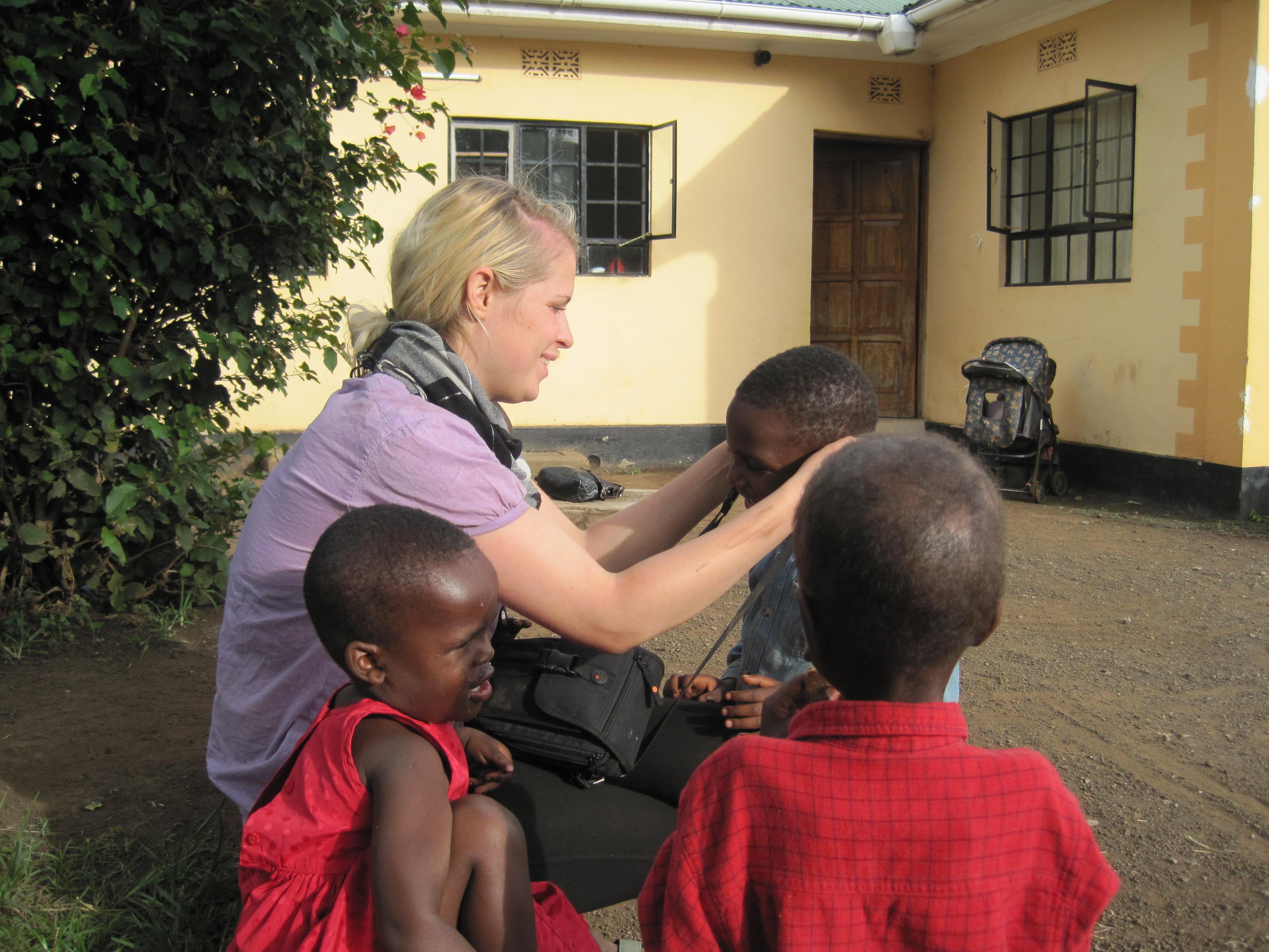 nursing kids