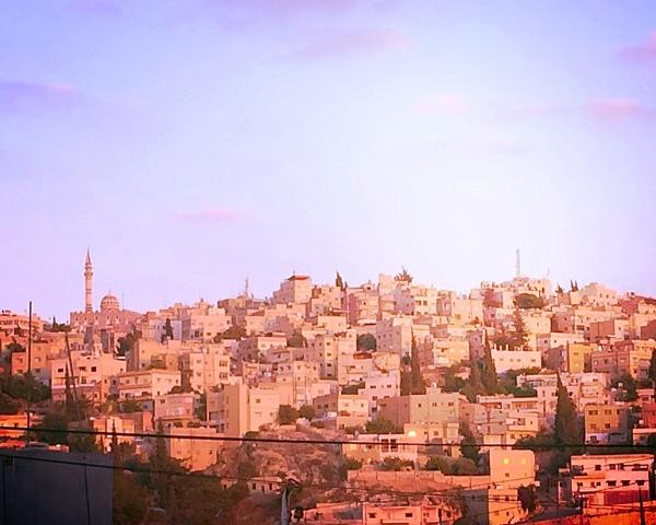 View of Amman Jordan