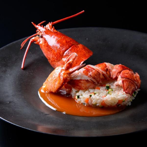 Lobster at Le Cordon Bleu Tokyo