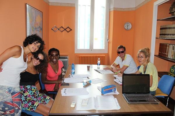 italian class at Omnilingua