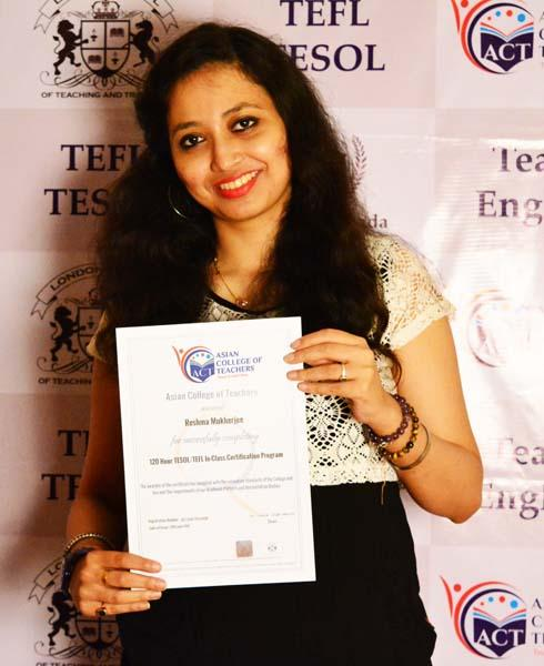 TEFL Certification India