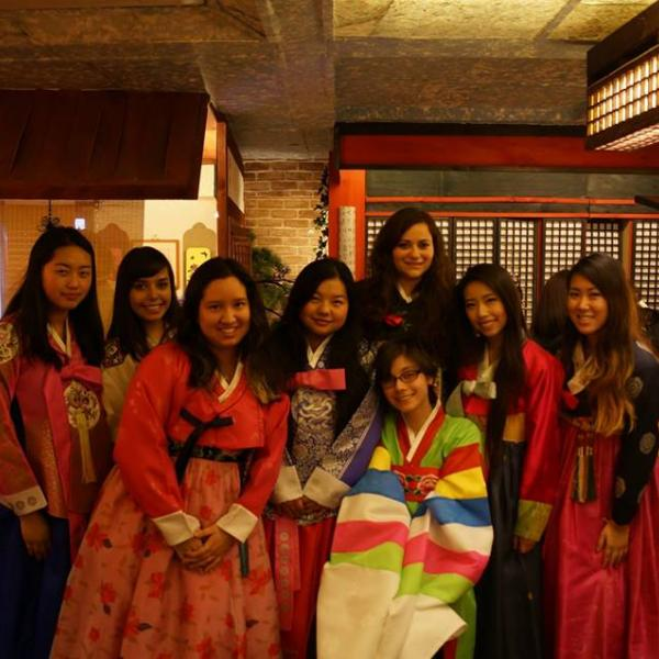 Traditional dress South Korea