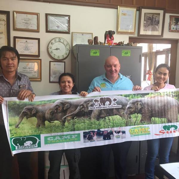 Khun Lek Save Elephant Foundation Elephant Nature Park Chiang Mai