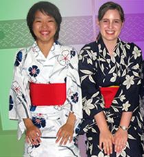 Japan - Girls in Kimonos