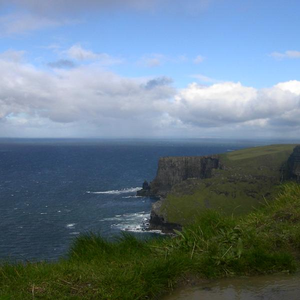 a beautiful coastline in Ireland