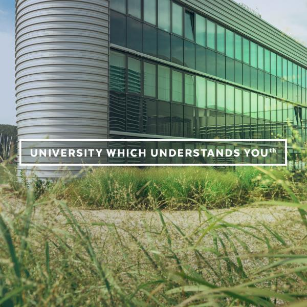 University which understands you