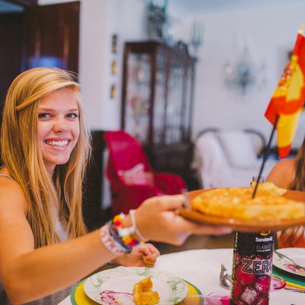 Discovering authentic Spanish food at the family homestay