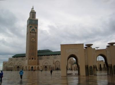 A  photo of historic buildings in Morocco, taken by a Projects Abroad volunteer