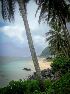 Photo of scenery in Samoa, taken by a Projects Abroad volunteer