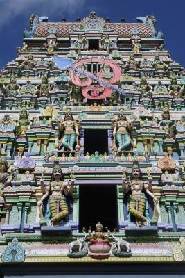 Photo of a hindu temple, taken by a Projects Abroad volunteer. Colombo, Sri Lanka