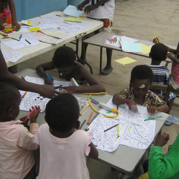 Creative Arts Center Project in Ghana with Love Volunteers