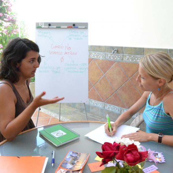 Learning Spanish in Malaga