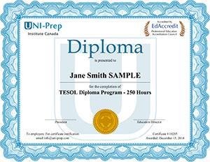 TESOL Diploma