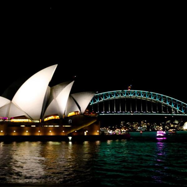Opera House, Harbour Bridge, Vivid Lights
