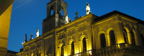 University of Padua at night