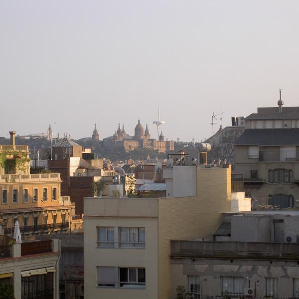 panoramic view from Casa Batlio
