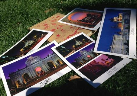 Postcards in Madrid - Adelante Abroad - Intern in Madrid