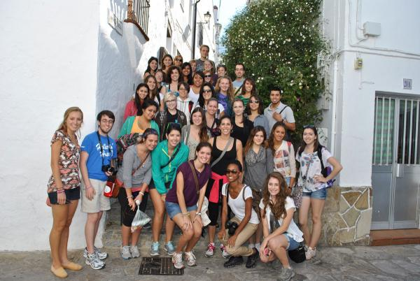 Estudiantes visita cultural