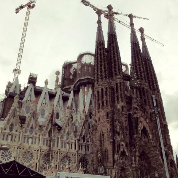 Sagrada Familia - Intern in Barcelona - Adelante Abroad