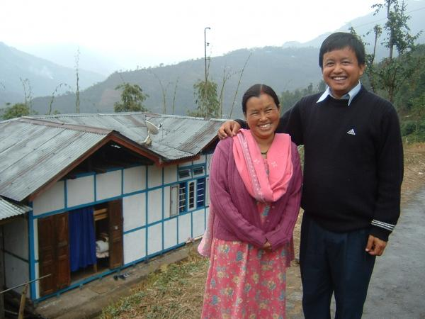 School principal and wife in Sikkim