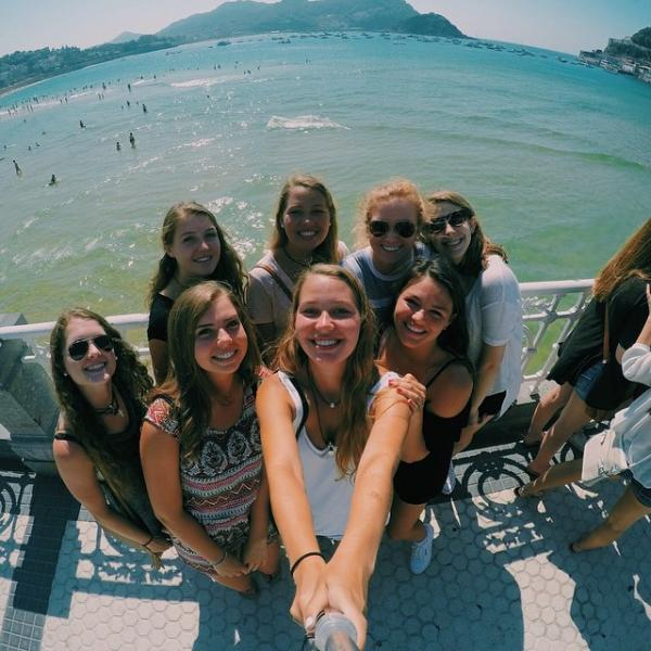 SPI Study Abroad Spain students in San Sebastian