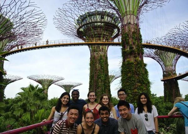 Exploring in Singapore
