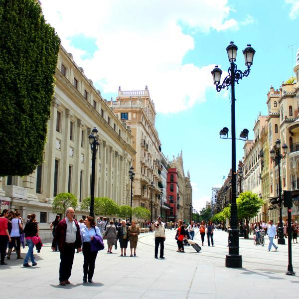 Seville Street - Intern in Seville - Adelante Abroad