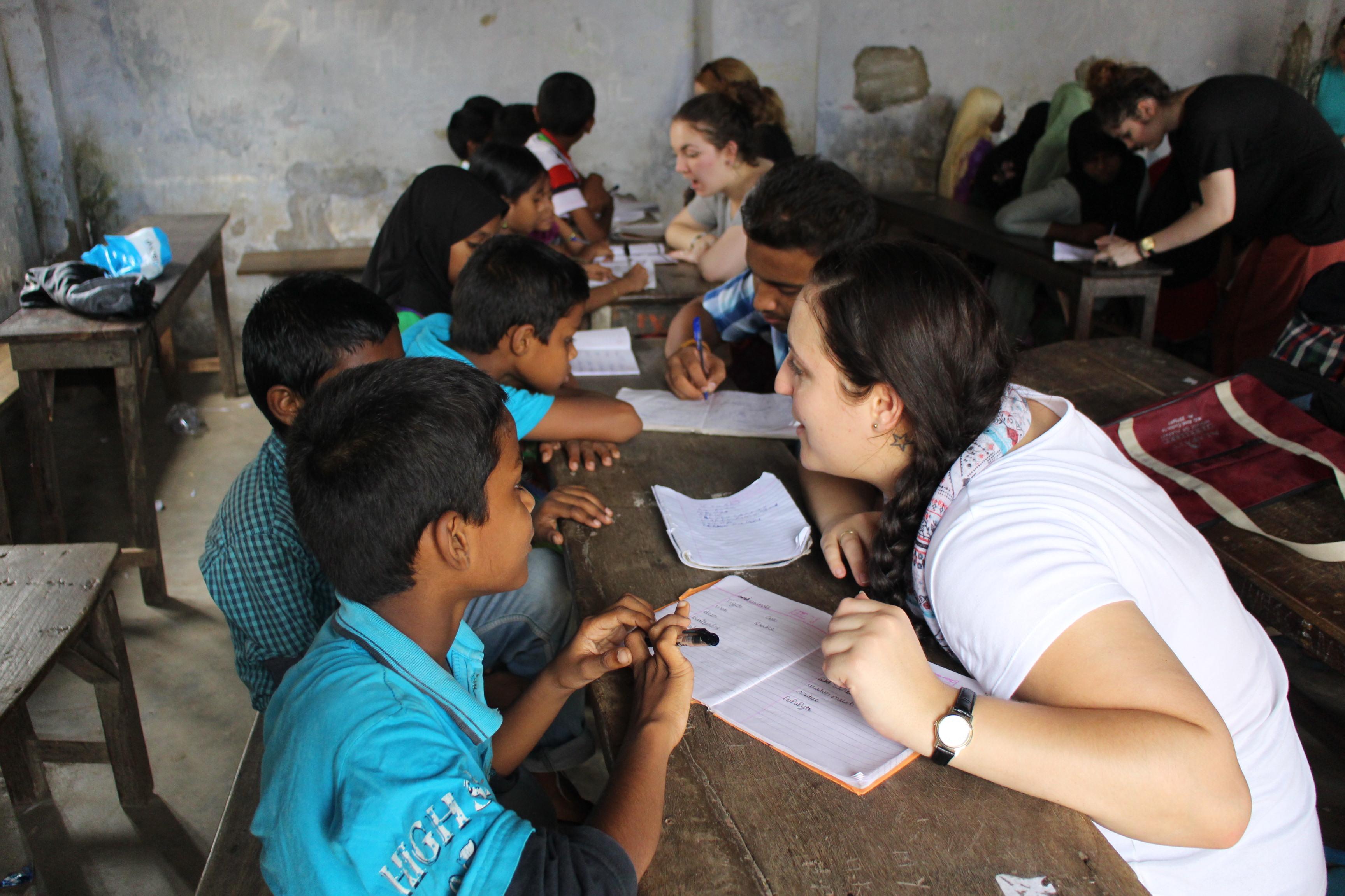 teaching English in India
