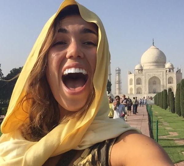 Visit the Taj Mahal in India!