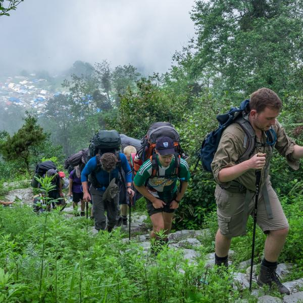 raleigh nepal expedition trek