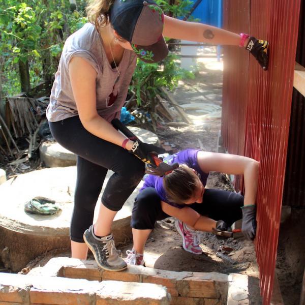Cambodia village work