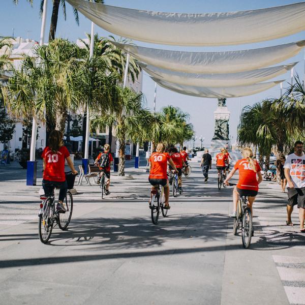 Ride tour in Cadiz, Spain