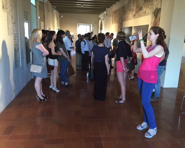 Visit at Graphics Museum, Palazzo Lanfranchi