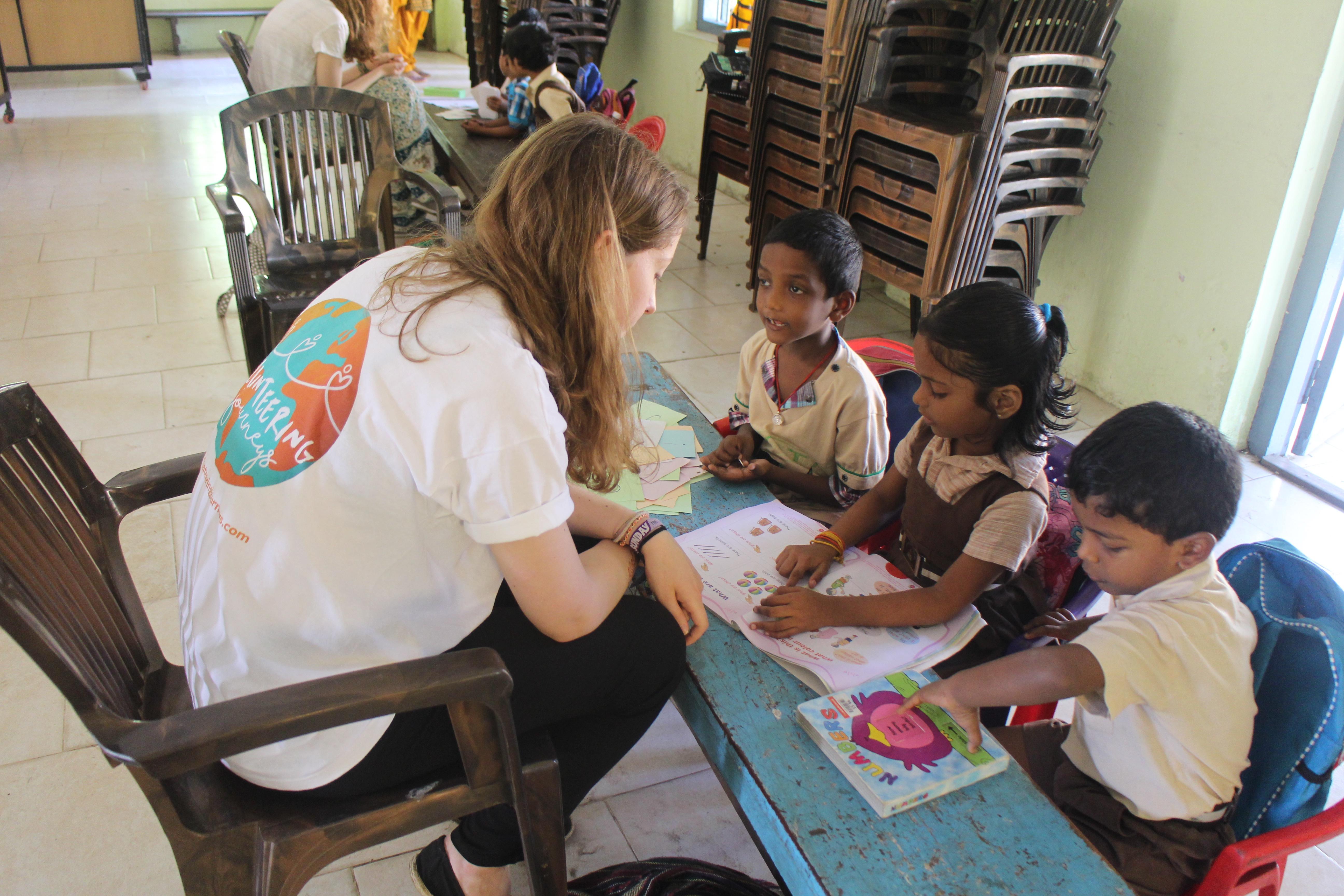 volunteering journeys in India